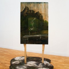 Directions for the Wanderer // Oil on Board // 182 x 121 cm // 2009