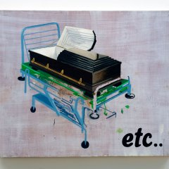 Extra-etc // Oil on Board // 91 x 121 cm // 2009