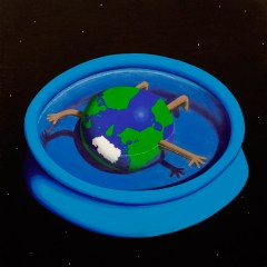 Goya's Gaia #20 // Acrylic on board 60 x 61cm // 2010