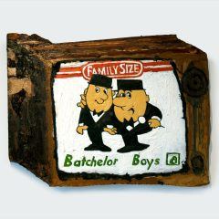 CH.38: Barney Gilbert and Beany George // Oil on MDF // 35 x 48cm // 2002