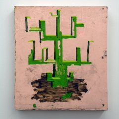 GM# 19: TREE TONIC // Oil on board // 53 x 47 cm // 2008
