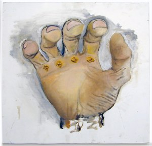 A Fistful of Welds // Oil on Board // 60 x 60 cm // 2005