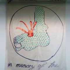 Celtics V Rangers // Polyurethane, Permanent Marker // 420 x 230 cm// 2006
