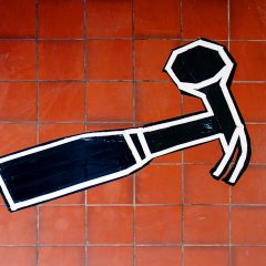 Tempered Temper // Duct tape // 90 x 40 cm // 2006