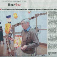 Joe Higgins and the Illuminated Lanterns // The Irish Times 20-6-2005