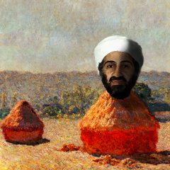 Osama in a Haystack // Digital Image// Invisible Dimensions // 2016