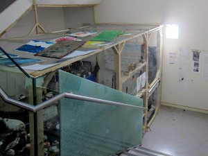 Remote Painters Far Away Day Cage // Mixed Media Studio// 440 x 360 x 220 cm // 2015