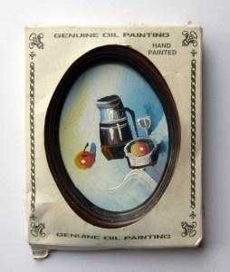 Sweet Sweat Shop Paintings // Pound Shop Paintings // 15 x 10 cm // 2005