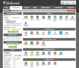 Wordpress Hosting - SiteGround CPanel