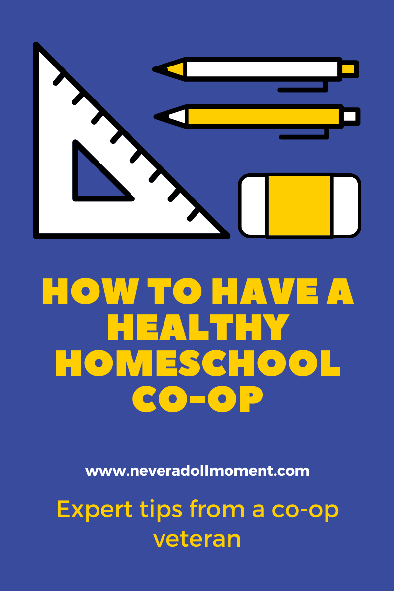 Have a happy homeschool co-op