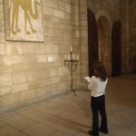 Copying art in the Cloisters