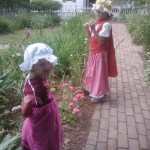 Grab some pictures in the beautiful gardens of Colonial Williamsburg.