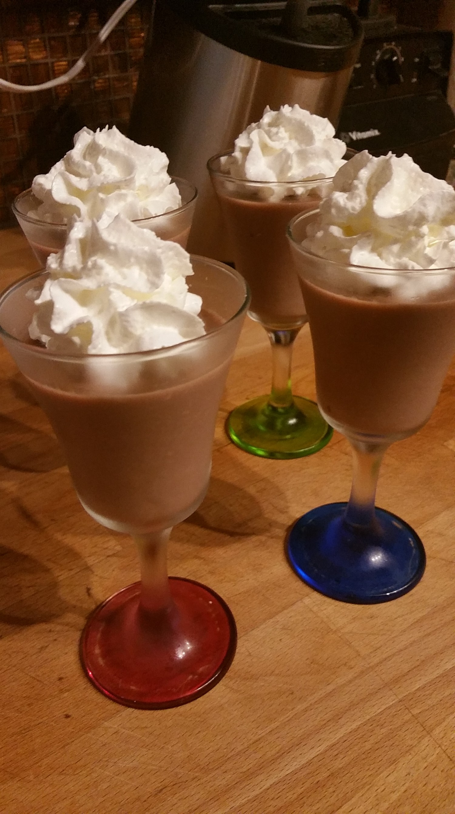 Eat your veggies – in chocolate pudding!