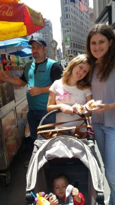 NYC hotdog vendor