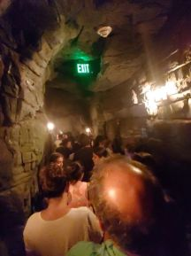 The cave part of Hagrid's queue