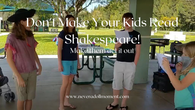 Kids Shouldn't Read Shakespeare