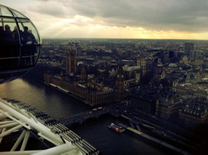 Never Ending Honeymoon | Facing fears and enjoying the view in the London eye