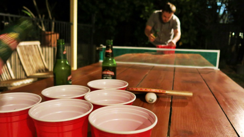 Never Ending Honeymoon | Beer pong in Australia