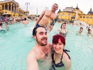 Never Ending Honeymoon | Széchenyi Baths, Budapest, Hungary