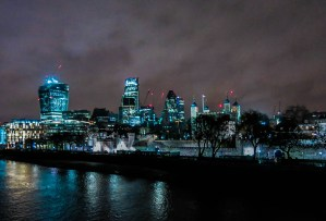 Never Ending Honeymoon | City of London at night