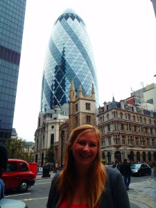 Never Ending Honeymoon | Jacqui travels and the Gherkin, City of London
