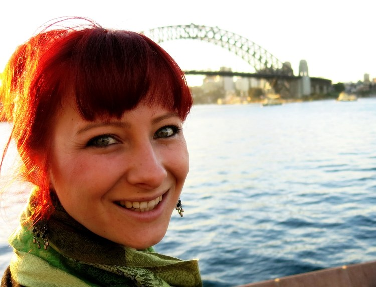 Jacqui & Sydney Harbour Bridge