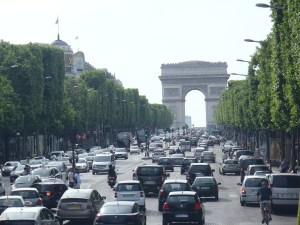 The Arc De Triomphe, Paris