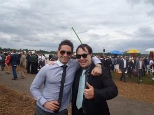Never Ending Honeymoon | Dan and Ryan at Ascot Races 2012