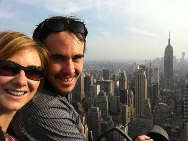 Never Ending Honeymoon | Overlooking NYC atop the Rockerfeller Centre