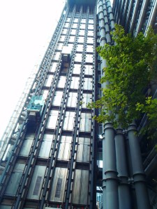 Never Ending Honeymoon | outside Lloyd's of London