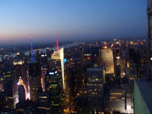 Never Ending Honeymoon   NYC at sunset from the Empire State Building