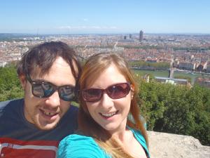 Never Ending Honeymoon   View of Lyon, France