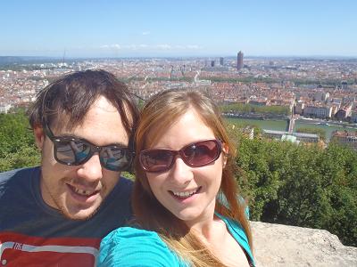 Never Ending Honeymoon | View of Lyon, France