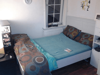 Never Ending Honeymoon | Jacqui Travels bedroom in East London