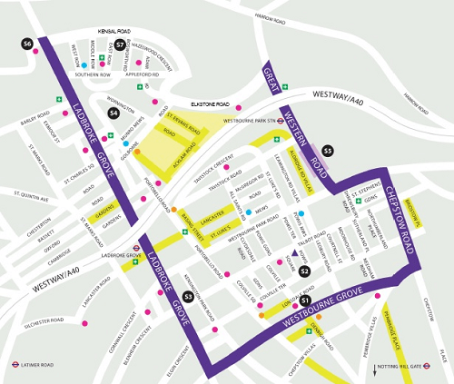 19 Notting Hill Map