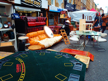 Never Ending Honeymoon | Brick Lane Markets, London, UK