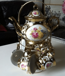 Never Ending Honeymoon | Golden Tea Pots!
