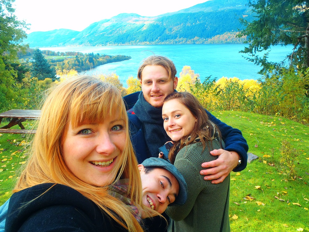 Never Ending Honeymoon | Loch Ness, Scotland. With Steve and Ala