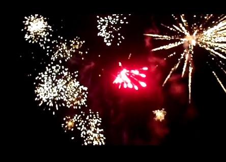 Never Ending Honeymoon | fireworks