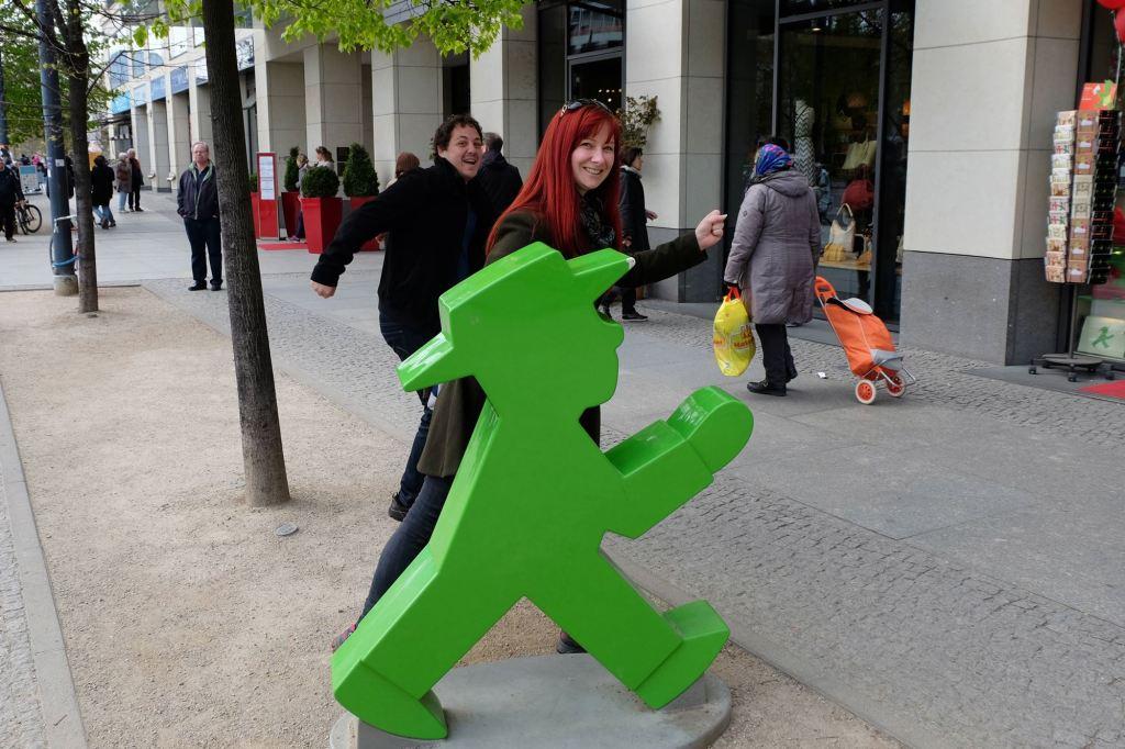 Ampelmännchen Berlin pedestrian signal neh
