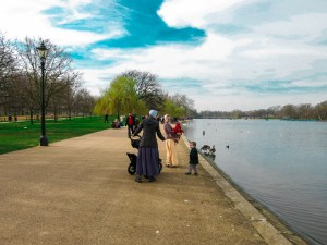 Never Ending Honeymoon   Hyde Park in the spring, London