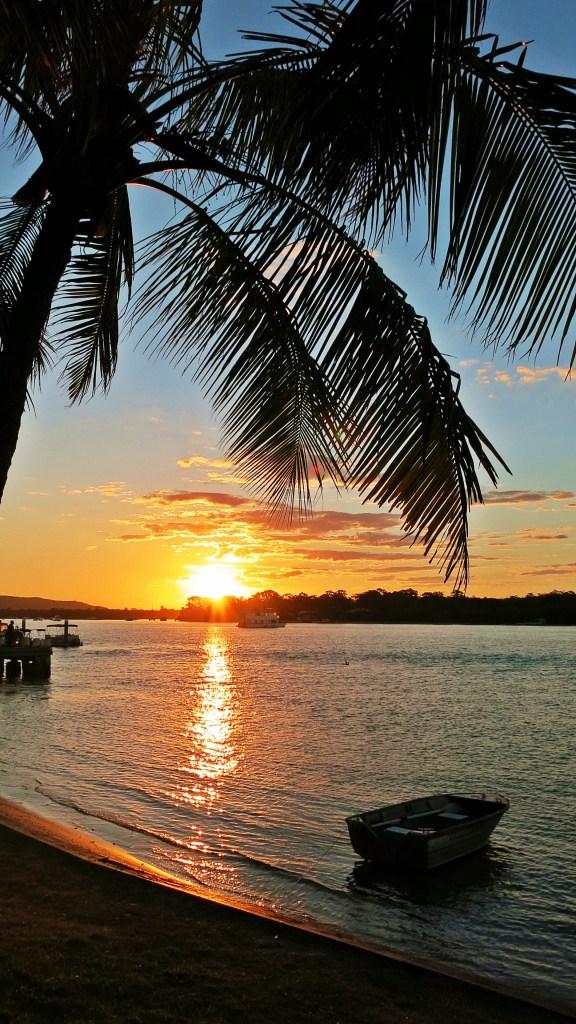 Noosa River at Sunset, Sunshine Coast