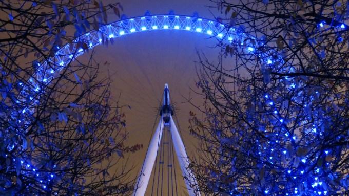 London Eye zoom