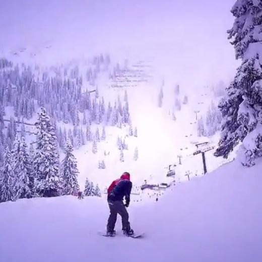 Never Ending Honeymoon   Snowboarding Silvretta Montafon, Austria