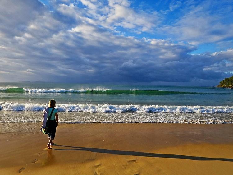 Dee at Noosa Beach