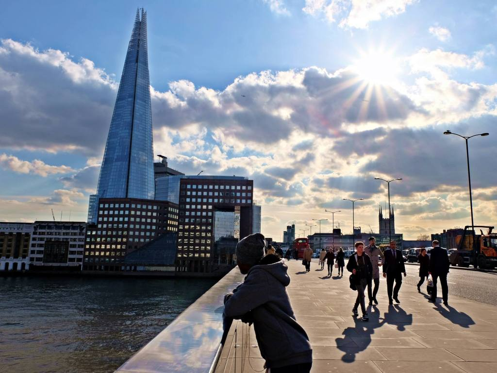 Contemplating life on London Bridge