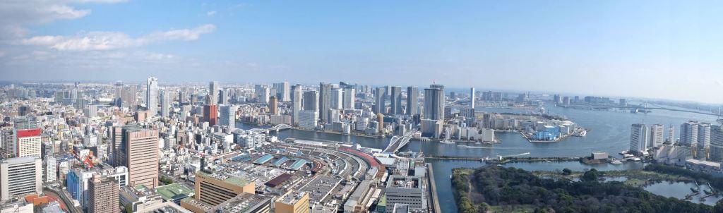 View of Tokyo Panorama