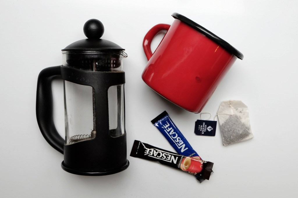 Coffee maker camping cup coffee and tea