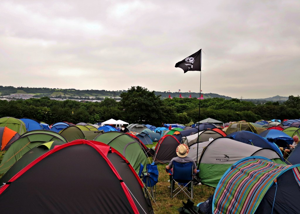 Glastonbury 2016 23 June Thursday beginning tents WS
