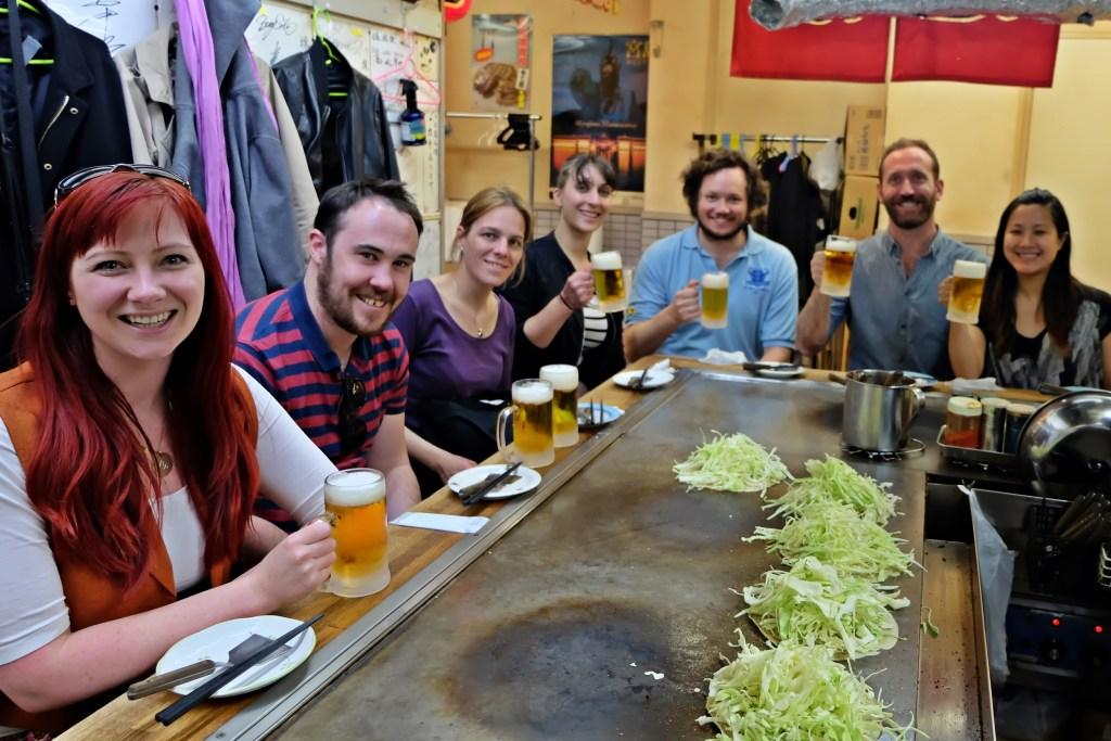 Hiroshima Everyone at Okonomimura WS